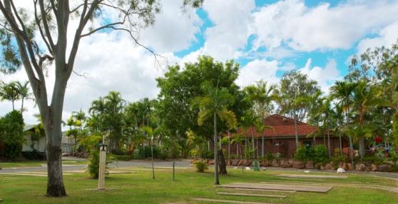 Rockhampton Caravan Park  Queensland
