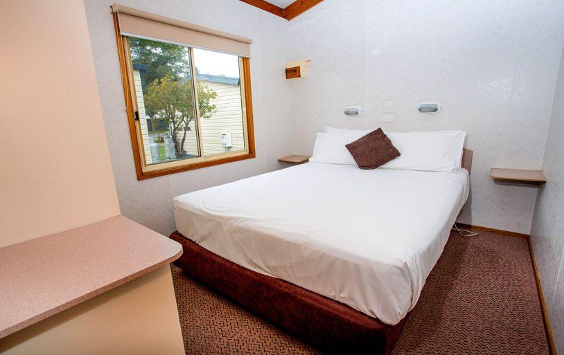 Standard Bedroom Cabin Geelong Caravan Park - Bedroom furniture geelong