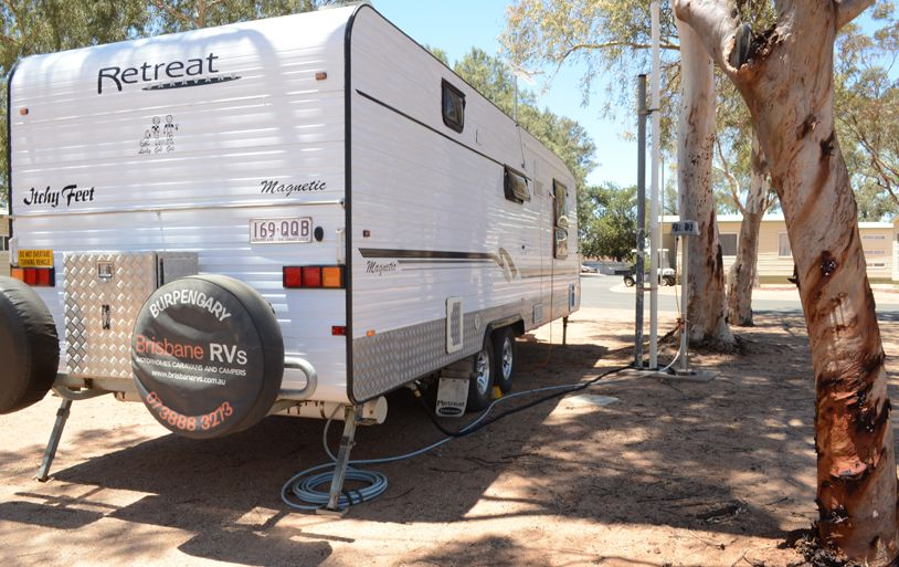 Powered Site - Tent/Trailer | Port Augusta Caravan Park