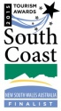 South Coast Tourism Awards Finalist