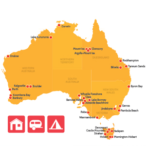 Map - School Holidays April 2015